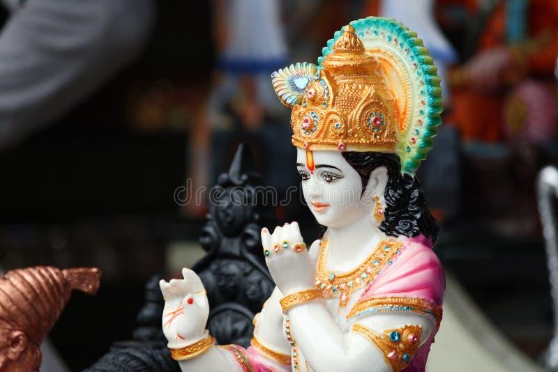 Idol of Lord Krishna stock image