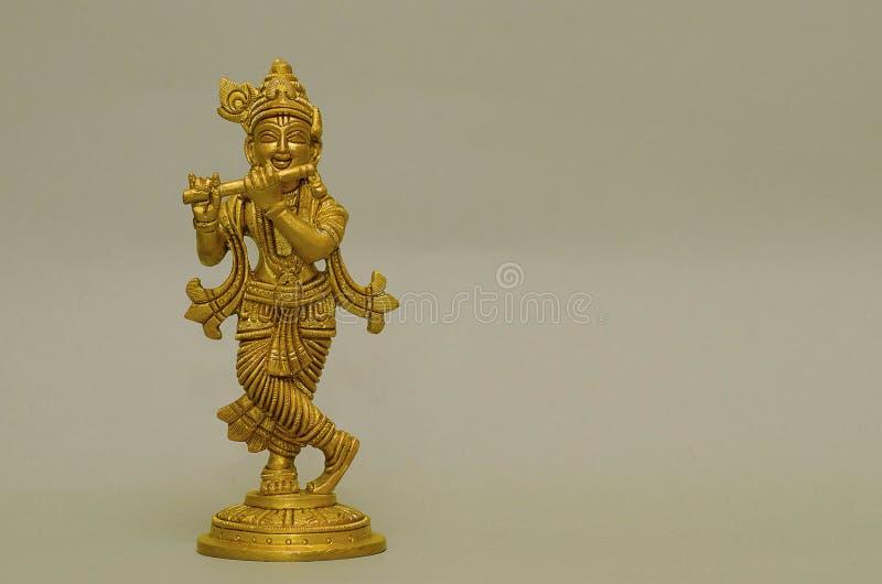 An idol of Lord Krishna, Pune, Maharashtra. An idol of Lord Krishna, Pune from Maharashtra, India royalty free stock image