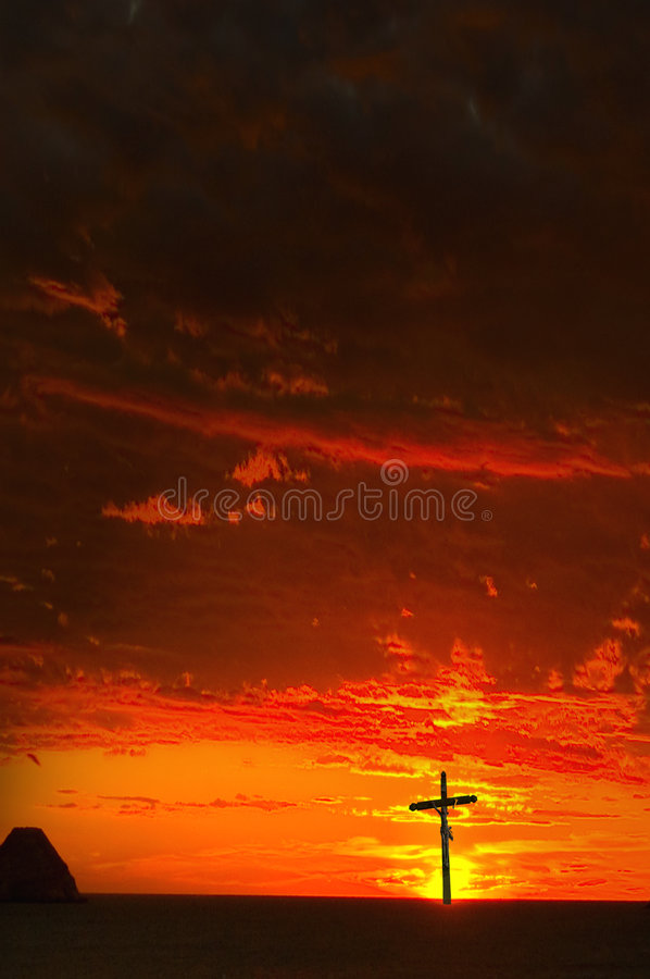 Download Idol sunset stock image. Image of christianism, lanscape - 503743