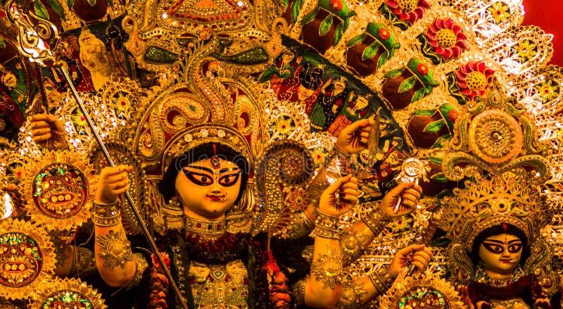 Idole de Durga de déesse photos libres de droits