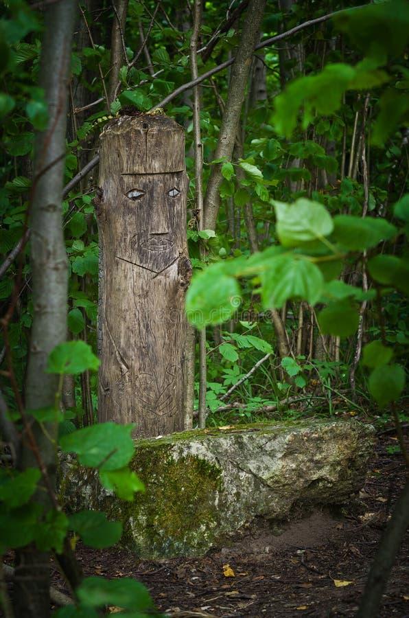 Idole de forêt photo libre de droits