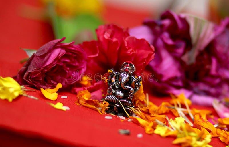 Idole de Lord Ganesha illustration de vecteur