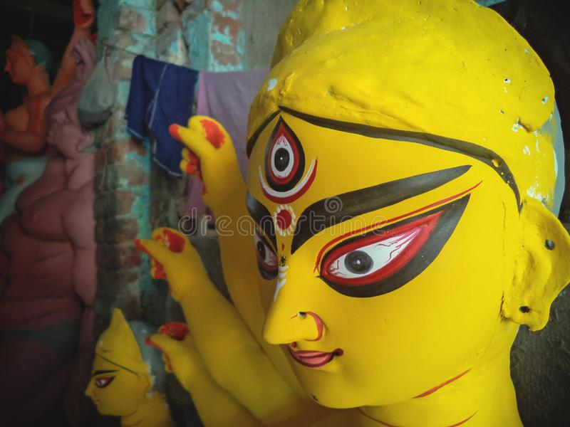Idoles de d?esse de l'Inde photos stock