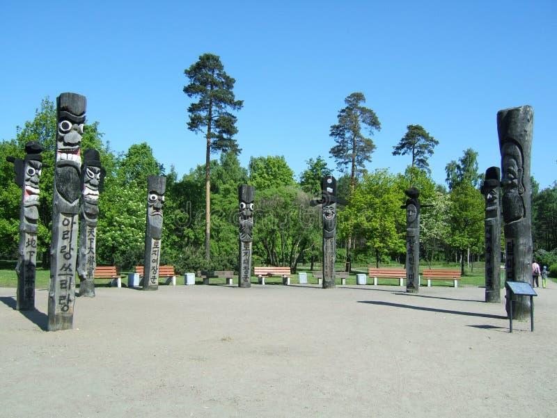 Idoli in San Pietroburgo immagini stock libere da diritti