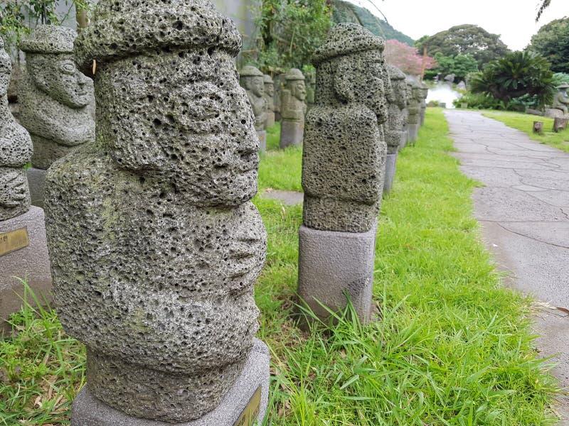 Idolo da Jeju-Do fotografia stock