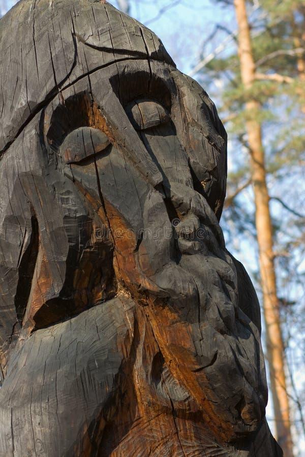 Idolo di legno fotografia stock libera da diritti