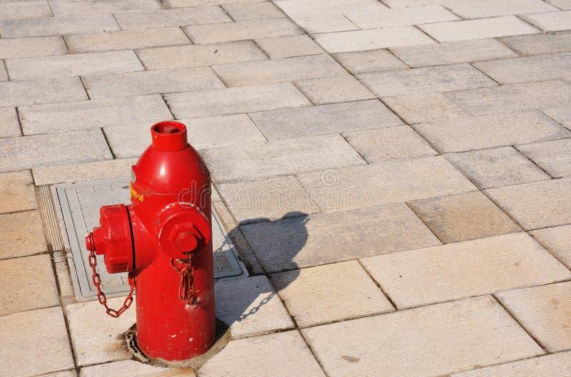 Idrante antincendio esterno immagini stock