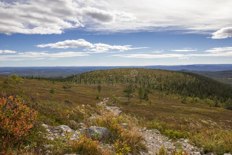 Idre krajobraz zdjęcie stock