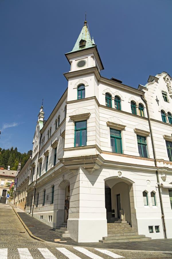 Idrija, Slowenien lizenzfreies stockfoto