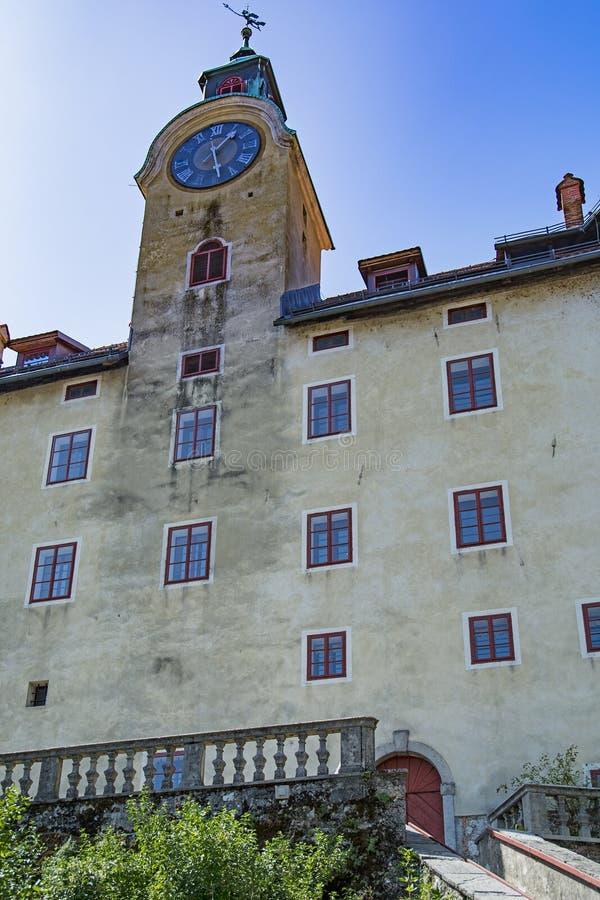 Idrija, Slowenien lizenzfreie stockfotos
