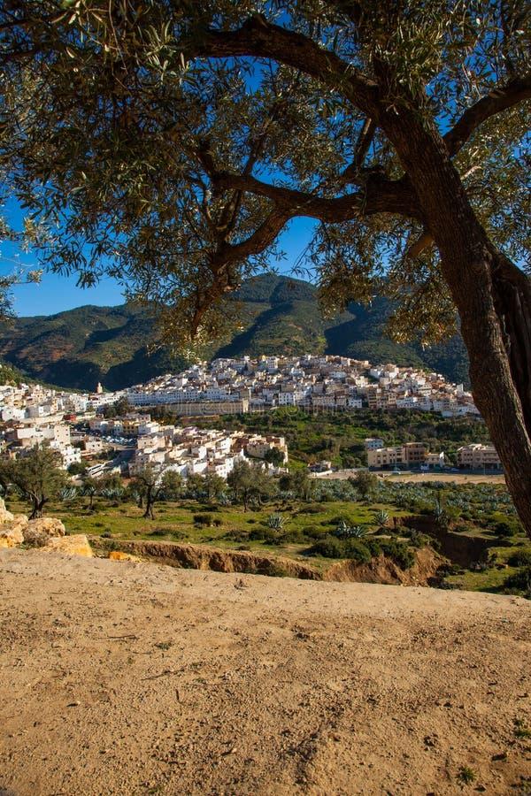 idriss moulay的摩洛哥 免版税库存图片