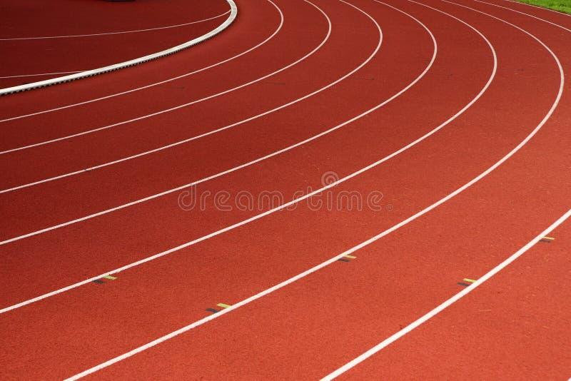 idrotts- spår royaltyfria foton