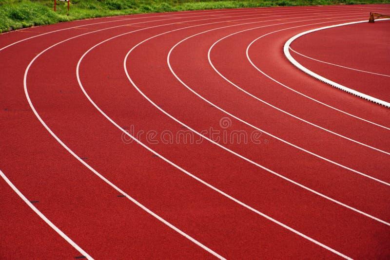 idrotts- spår royaltyfri fotografi