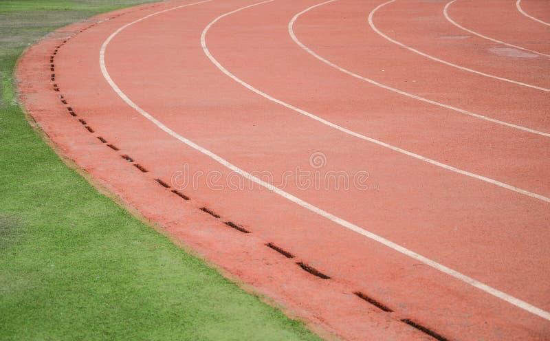 idrotts- spår arkivbilder