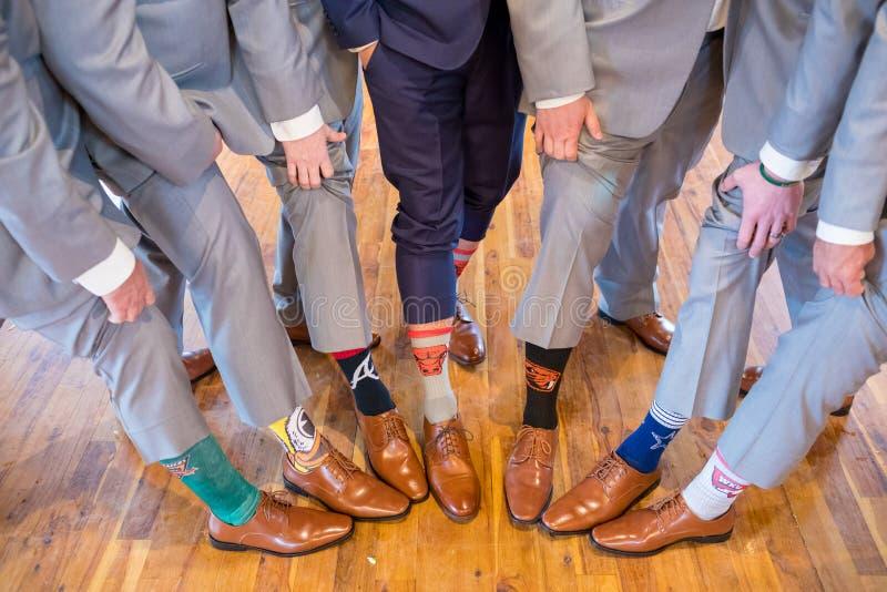 Idrotts- Team Socks arkivfoton