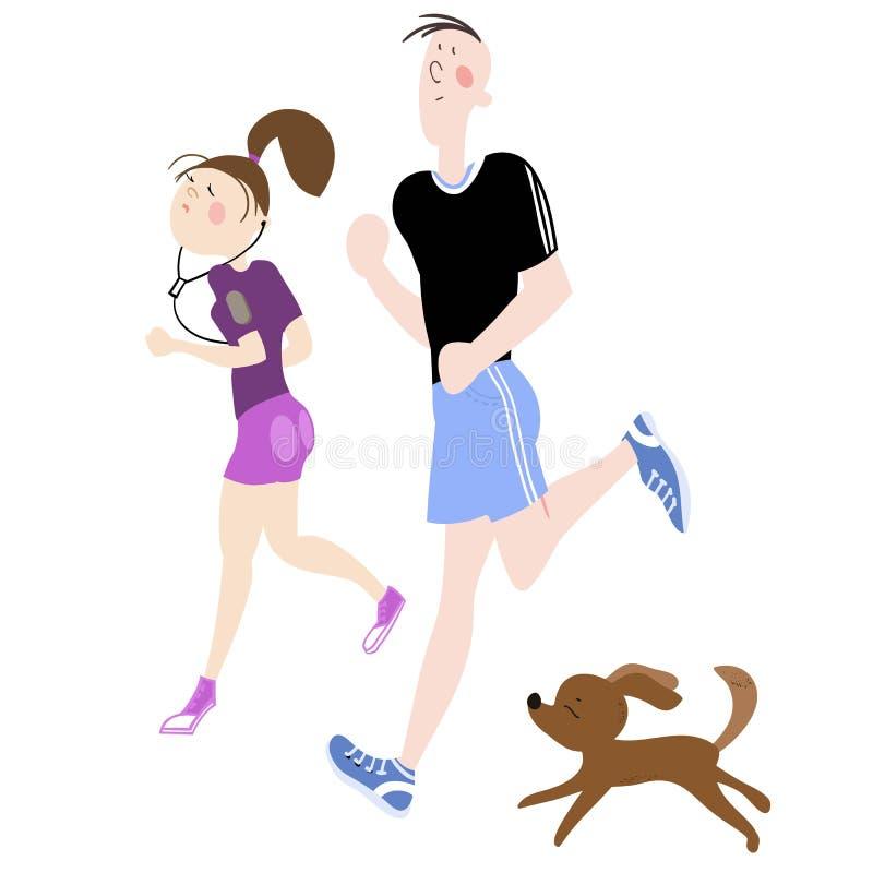 idrotts- ?vningar royaltyfri illustrationer