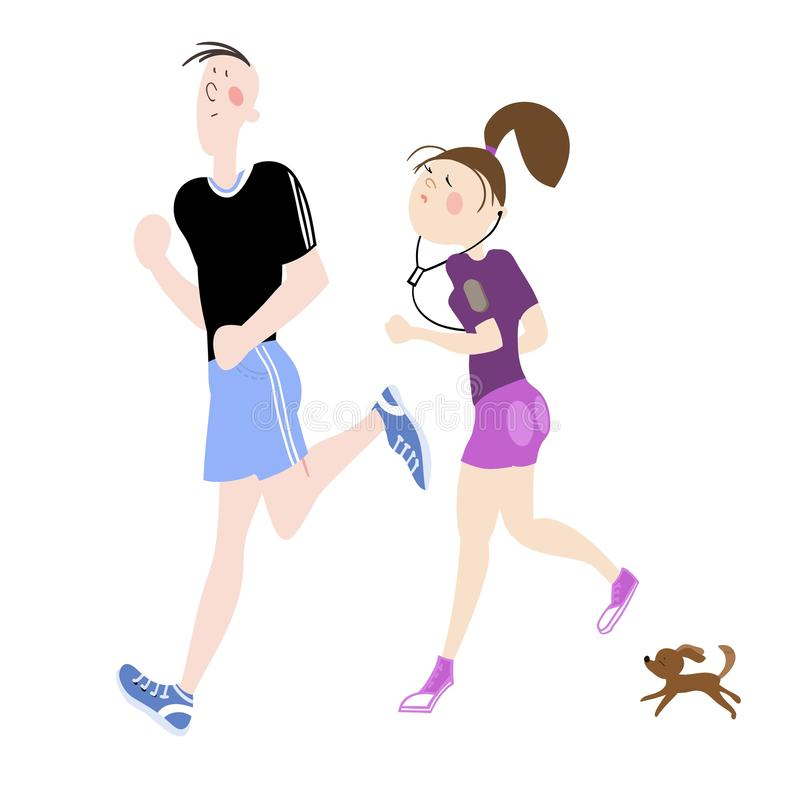 idrotts- ?vningar stock illustrationer
