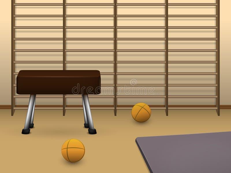 idrottshall vektor illustrationer