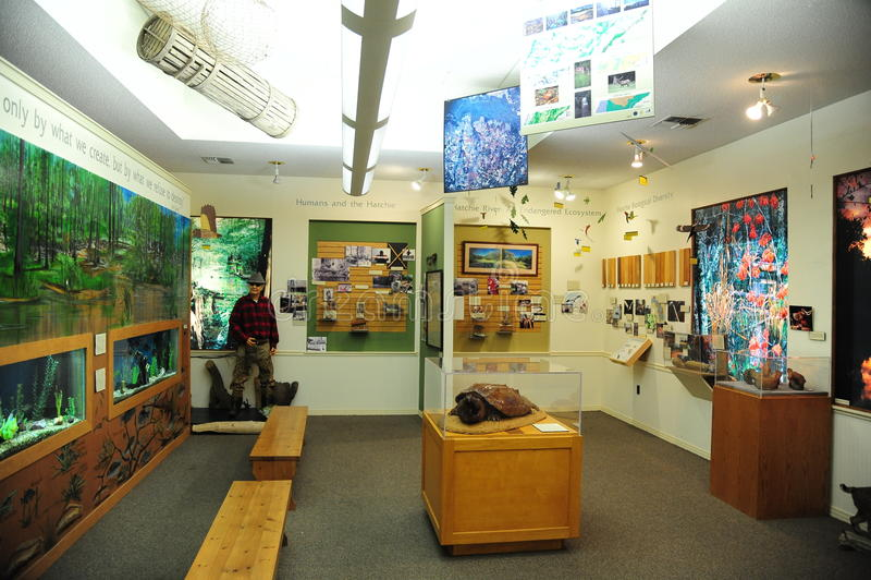 Idrottsmanrum på den västra Tennessee Delta Heritage Center och museet arkivfoto