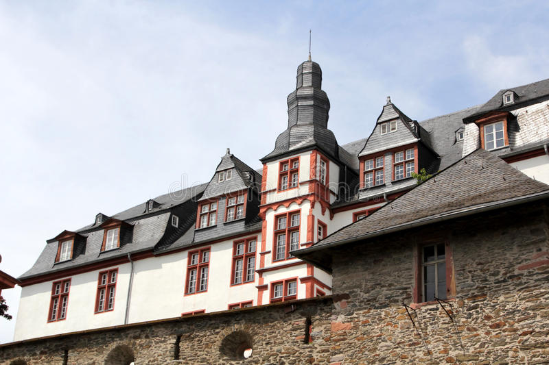 Idstein, Germany. Historical architecture of Idstein, Hesse, Germany stock photo