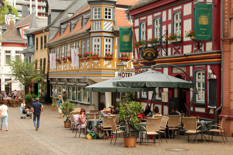 Idstein, Germany stock image