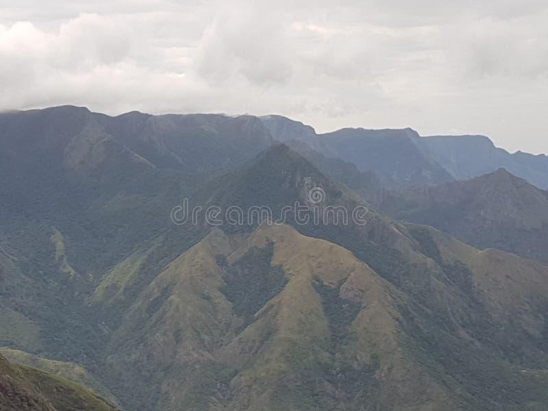 Iduki mountains view, Karala royalty free stock photos