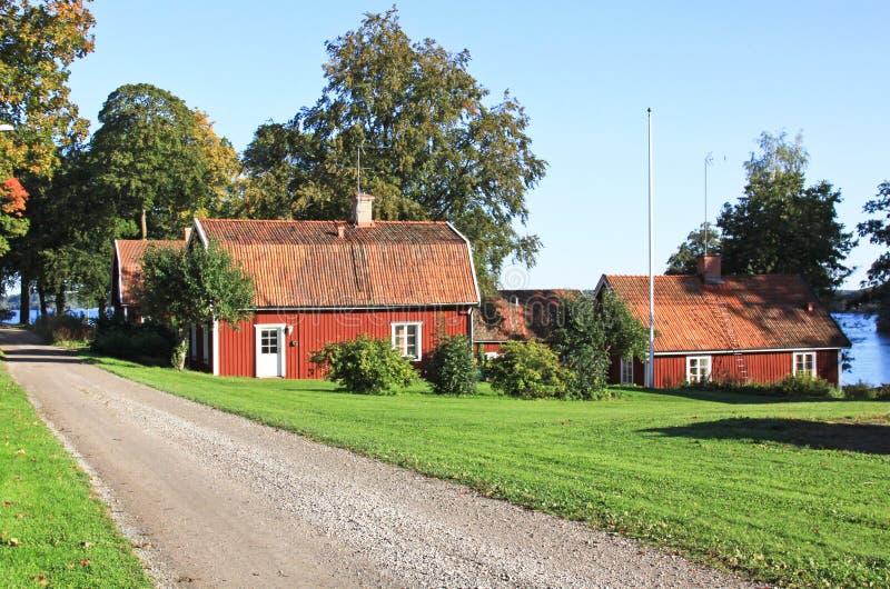 idyll σουηδικά στοκ φωτογραφία