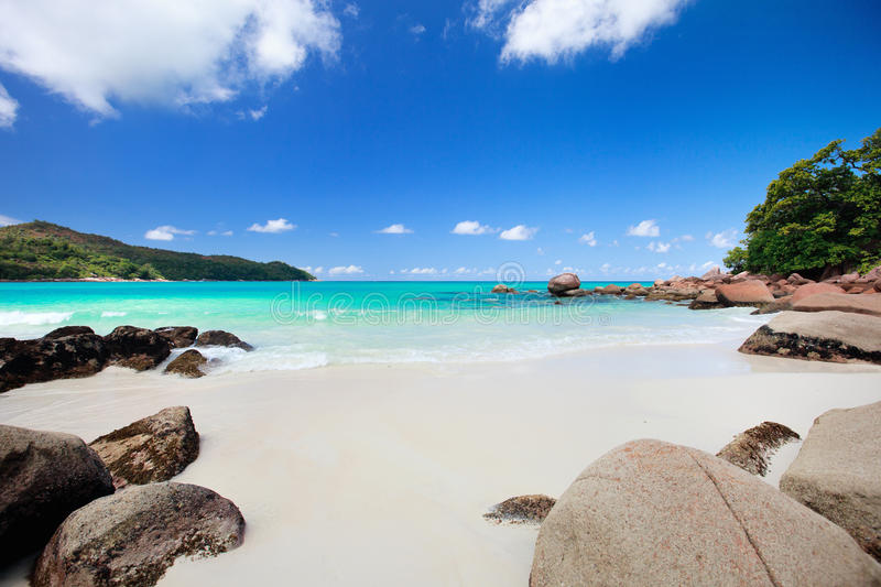 Download Idyllic Beach In Seychelles Stock Image - Image of outdoor, tranquil: 18294639