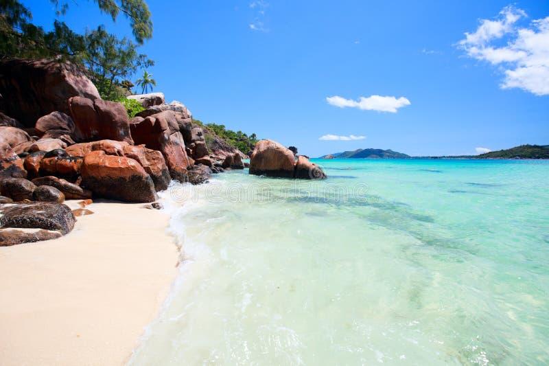 Download Idyllic Beach In Seychelles Stock Image - Image: 19117909