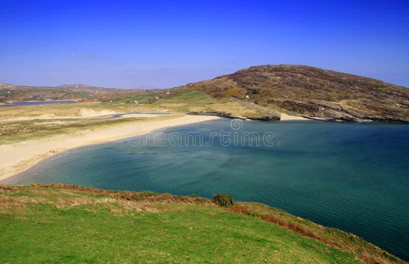 Idyllic irish beach royalty free stock image