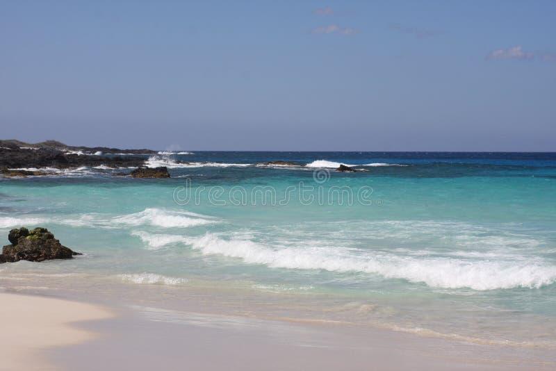 Idyllic Kua Bay royalty free stock photography
