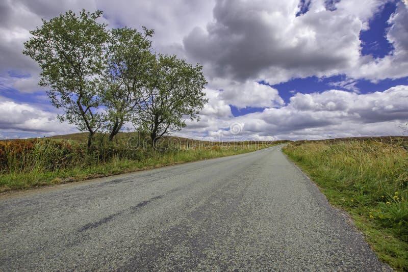 Idyllic landscape of british countryside. stock photography