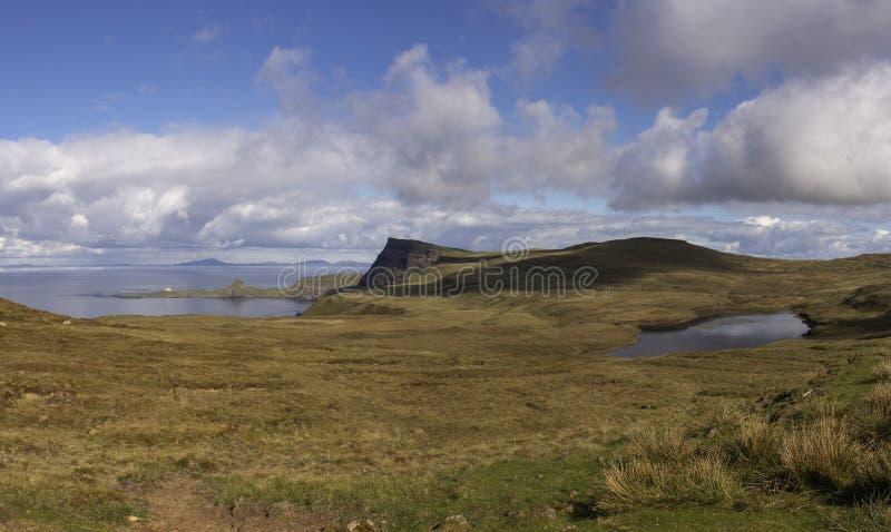 Idyllic landscape of Isle of Skye,Scotland ,UK royalty free stock images
