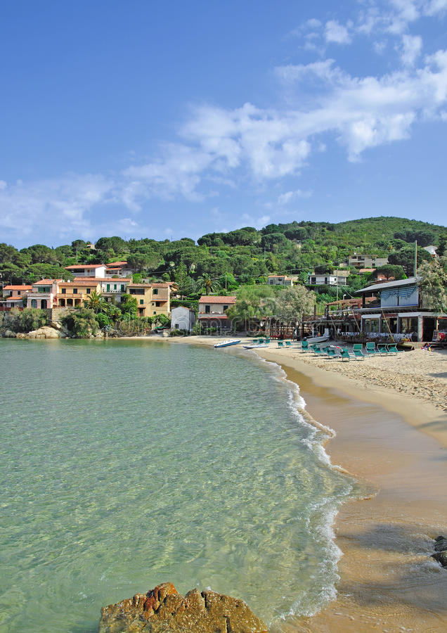 Idyllic Place On Elba Island Royalty Free Stock Image