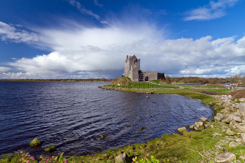 Download Idyllic Scenery With Dunguaire Castle Stock Image - Image: 24162553
