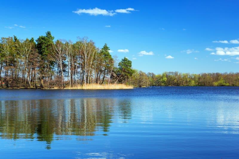 Download Idyllic Scenery Of The Lake Stock Photo - Image: 30903888