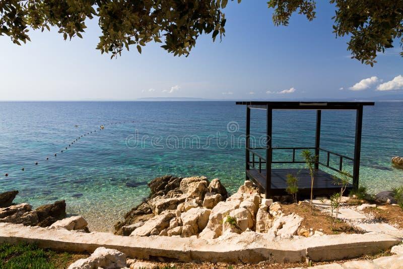 Download Idyllic seaside stock image. Image of water, beach, ocean - 28432801