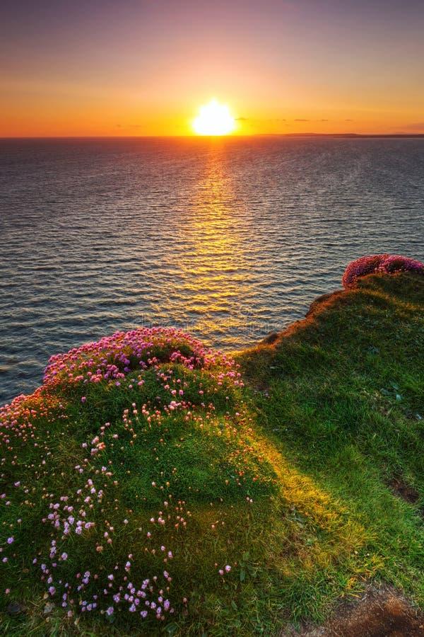 Download Idyllic Sunset At Atlantic Ocean Stock Photo - Image: 24920708