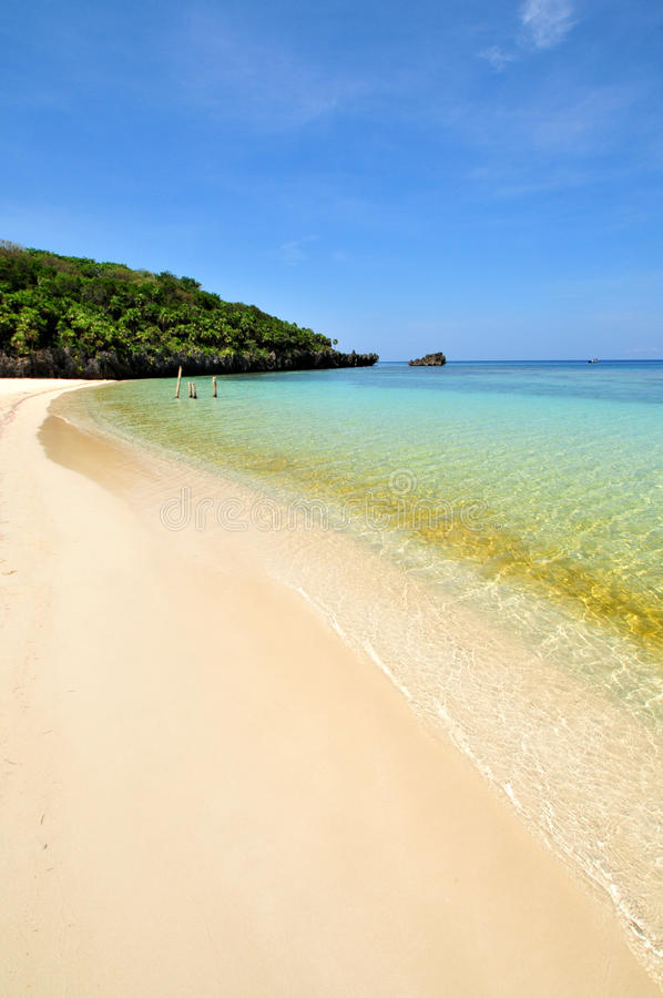 Download Idyllic tropical beach stock image. Image of island, tranquility - 14593071