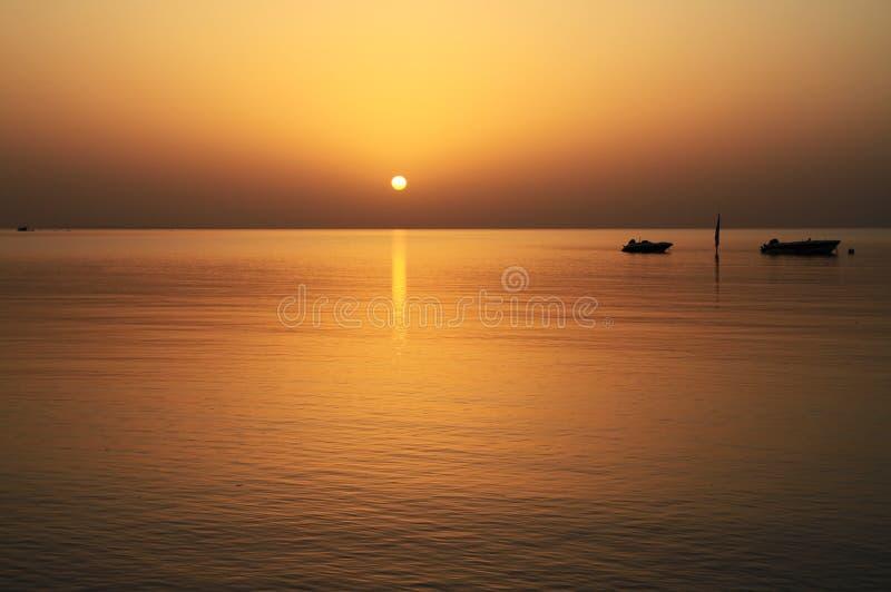 Idyllic view of Red Sea stock image