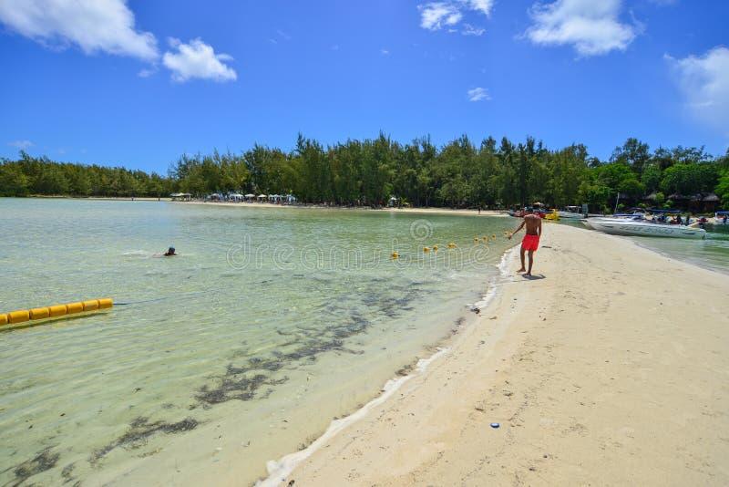 Idylliczna tropikalna morza i turkusu woda obrazy royalty free