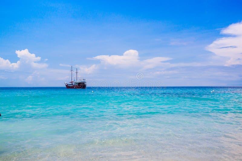 Idylliczna tropikalna sceneria, Similan wyspy, Andaman obraz royalty free