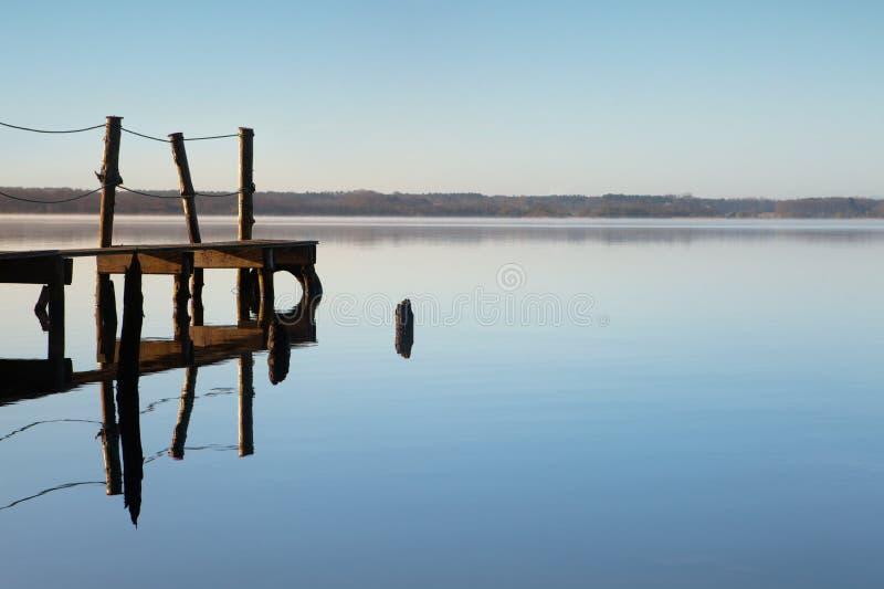 idylliczny jezioro obrazy stock