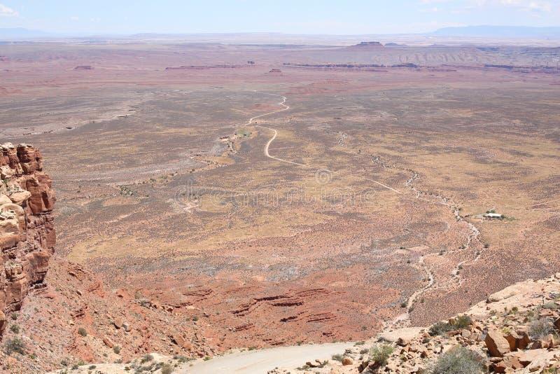 Idyllisch landschap in Utah, de V.S. royalty-vrije stock fotografie