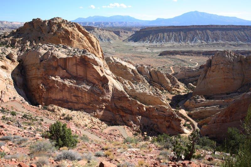 Idyllisch landschap in Utah, de V.S. royalty-vrije stock foto's