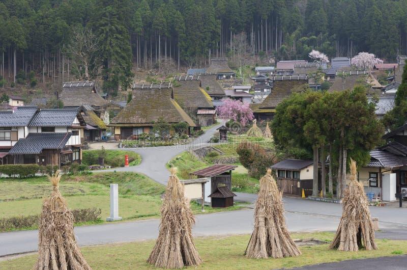 Idyllisch landschap van Kyoto, Japan stock fotografie