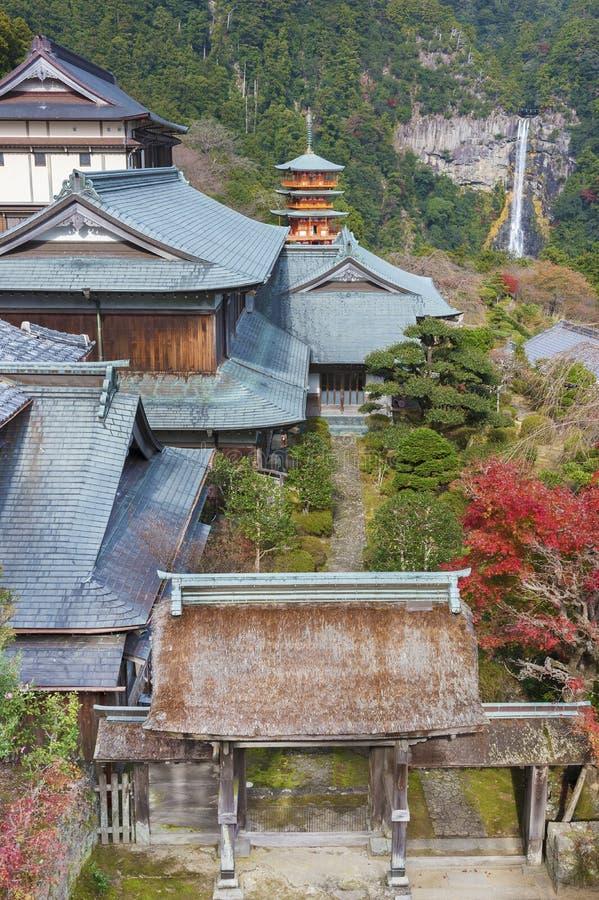 Idyllisch landschap van Wakayama, Japan royalty-vrije stock fotografie