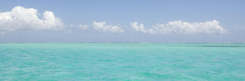 Idyllische horizon stock afbeelding
