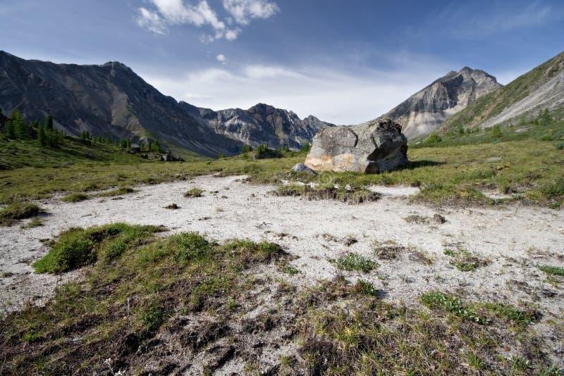 Idyllische wilde aard in bergen de Oost- van Siberië royalty-vrije stock afbeeldingen