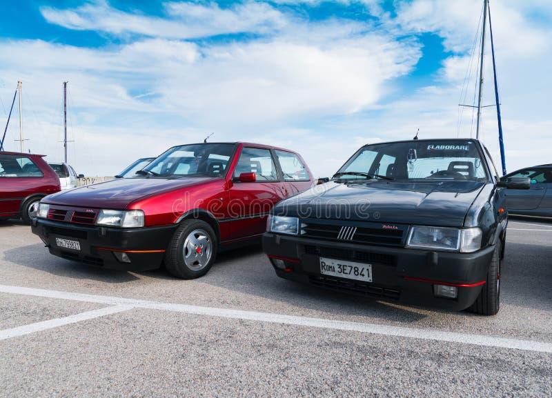 IE di ONU turbo di Fiat immagini stock